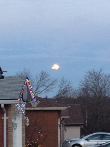 Christmas Eve full moon 2015